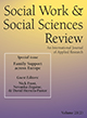 Social Work & Social Sciences Review cover